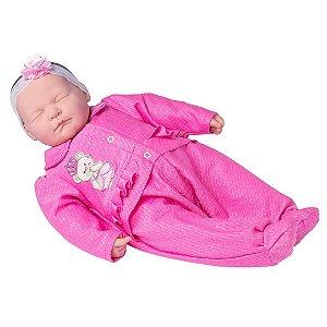 Boneca Ninos Reborn Dormindo 2212 - Cotiplás