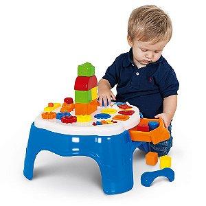 Play Time Mesa de Atividades Azul 1950 - Cotiplás