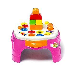 Play Time Mesa de Atividades Rosa 2049 Cotiplás