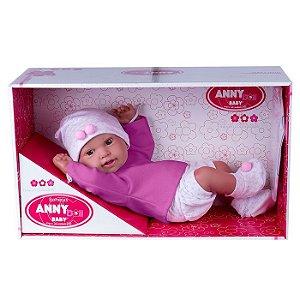Boneca Anny Doll Baby Shorts 2443 Cotiplás