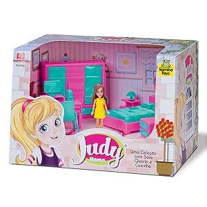 Judy home com Boneca Quarto 404 Samba Toys