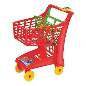 Carrinho de Compras Infantil Vermelho 872 Magic Toys