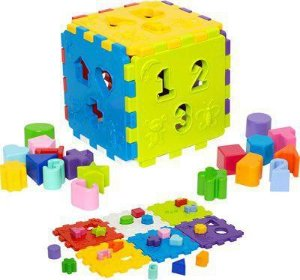 Cubo Didático 403 Mercotoys
