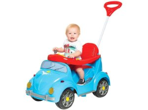 Carro Fusca Fouks Azul 998 Calesita