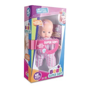 Boneca Bebê Super Soft 377 Milk