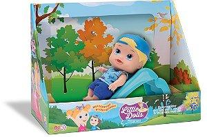 Boneco Little Dolls Escorregador Menino 8095 - Divertoys