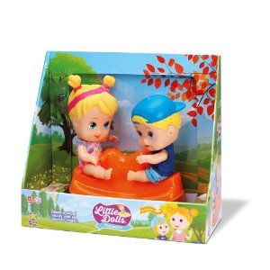 Boneca Little Dolls Gangorra 8097 Divertoys