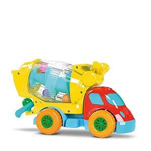 Caminhão Robustus Betoneira 8011 Divertoys