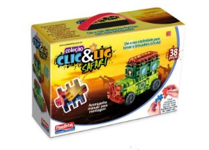 Clic & Lig Safari 38 Peças 0594 Plasbrink