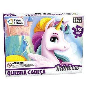 Quebra Cabeça Rainbow 150 Peças 2976 Pais e Filhos