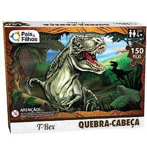 Quebra Cabeça T-Rex 150 Peças 2874 Pais e Filhos