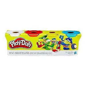 Massa de Modelar Play-Doh com 4 Potes B5517 Hasbro