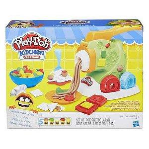 Massa de Modelar Play-Doh Fábrica de Macarrão B9013 Hasbro