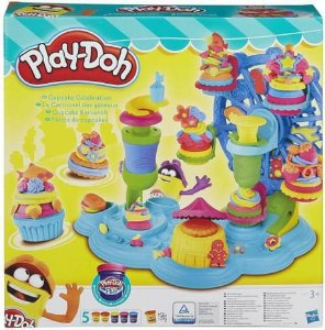 Massa de Modelar Play-Doh Roda Gigante de Cupcake B1855 Hasbro