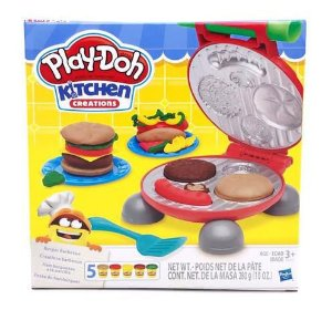 Massa de Modelar Play-Doh Festa do Hambúrguer B5521 Hasbro