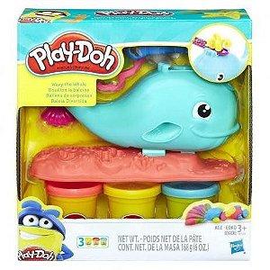 Massa de Modelar Play-Doh Baleia E0100 Hasbro