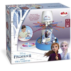 Jogo Tira Varetas Frozen 1133 Elka