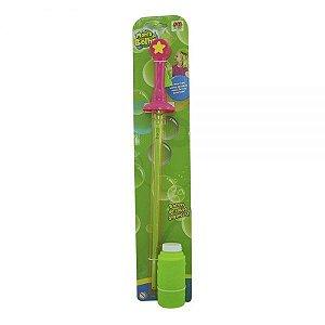 Lançador Mania de Bolha Varinha DMT5061 DM Toys