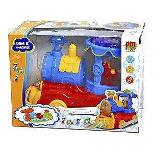 Trenzinho Carrossel DMT5107 DM Toys
