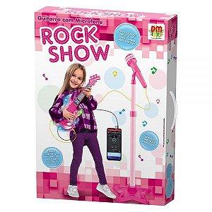 Guitarra com Microfone Rock Show DMT5893 DM Toys