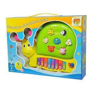 Teclado Caracol Musical DMT3849 DM Toys