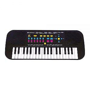 Teclado com Microfone DMT5701 DM Toys