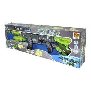 Lançador de Dardos  Shot  Power Flash DMT5631 DM Toys