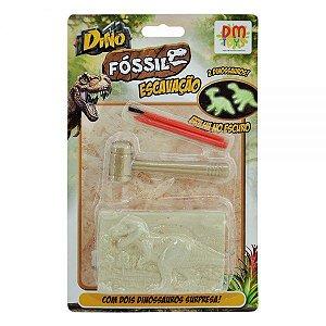 Dino Fóssil Escavação 2 surpresas DMT5755 DM Toys