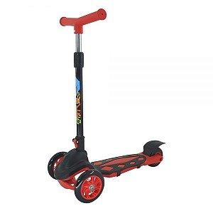 Patinete Radical Power Vermelho DMR5551 DM Toys