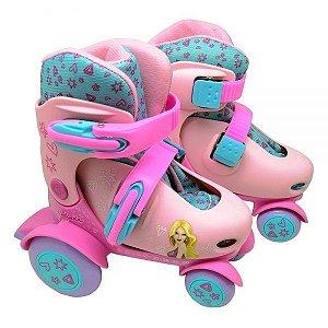 Patins Roller Ajustável Belinda DMR5874 DM Toys