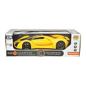Carro Controle Remoto Sport Champion DMT5050 DM Toys