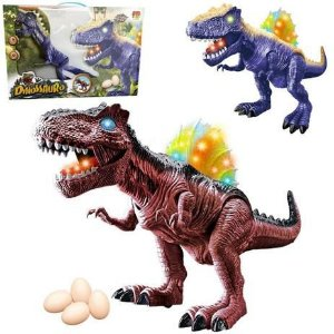 Boneco Dinossauro Som e Luz DMT5847 DM Toys
