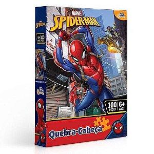 Quebra Cabeça Homem Aranha 100 peças 8013 Toyster