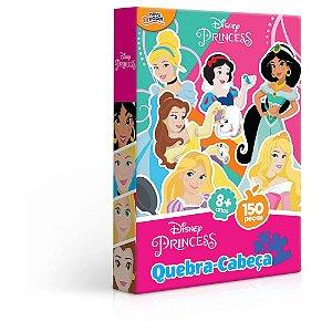 Quebra Cabeça Princesas 150 peças 8008 Toyster