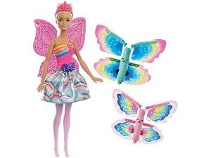 Barbie Fada Asas Voadoras FRB08 Mattel