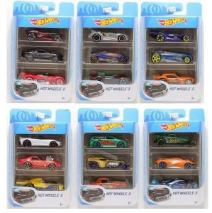 Hot Wheels conjunto com 3 K5904 Mattel