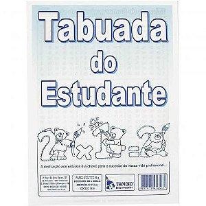 Tabuada do Estudante 6 folhas Tamoio