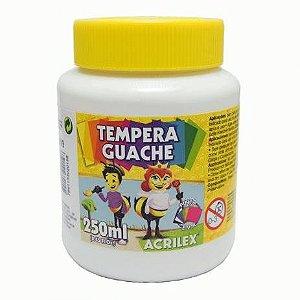 Tinta Guache 250ml Branca Acrilex