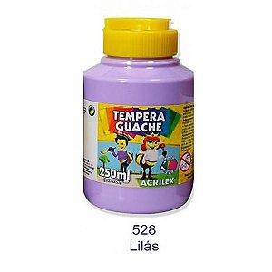 Tinta Guache 250ml Lilás Acrilex