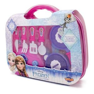 Kit Cozinha com Maleta Frozen 32834 Toyng