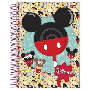 Caderno Universitário 96 folhas Capa Dura Disney - Jandaia