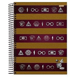 Caderno Universitário 96 folhas Capa Dura Harry Potter - Jandaia