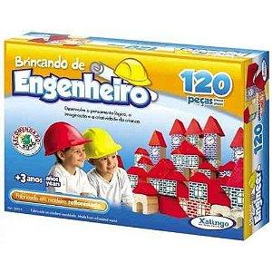 Brincando de Engenheiro 120 peças 52798 Xalingo