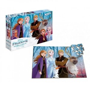 Quebra Cabeça Frozen 100 peças 19765 Xalingo