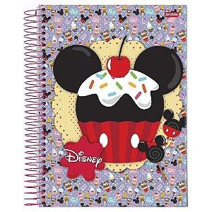 Caderno Universitário 200 folhas Capa Dura Disney - Jandaia
