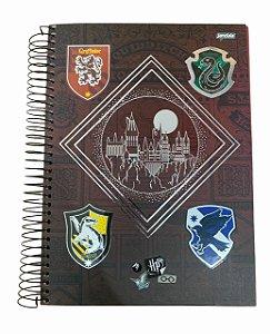 Caderno Universitário 200 folhas Capa Dura Harry Potter - Jandaia