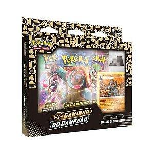 Pokémon Box Coalossal Caminho do Campeão Emblema Bordado
