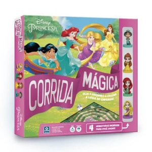 Jogo Corrida Mágica Princesas Copag