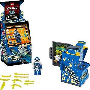 Lego Ninjago Jay Avatar e Pod de Arcade 47 peças  71715 Lego