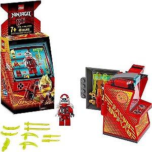 Lego Ninjago Kai Avatar e Pod de Arcade 49 peças 71714 Lego